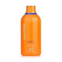 Lancaster Sun Beauty Velvet Fluid Milk SPF50  400ml/13.5oz
