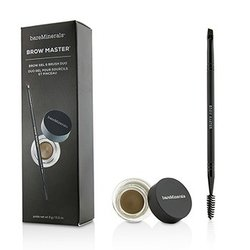 BareMinerals Brow Master Duo (Brow Gel & Brush) - Universal Taupe  3g/0.11oz