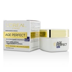 ロレアル Age Perfect Re-Hydrating Night Cream - For Mature Skin  50ml/1.7oz