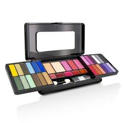 Cameleon Kit de Maquillaje De Lujo G2215 (24x Sombras de Ojos, 3x Rubores, 2x Polvos Compactos, 5x Brillos de Labios, 2x Aplicadores)