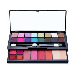 Cameleon Kit de Maquillaje De Lujo G2219 (16x Sombras de Ojos, 4x Rubores, 1x Polvos Compactos, 4x Brillos de Labios, 2x Aplicadores)