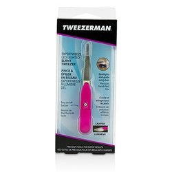 Tweezerman Expertweeze LED Lighted Slant Tweezer