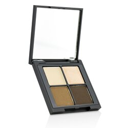 Glo Skin Beauty Brow Quad - # Brown  4.15g/0.14oz