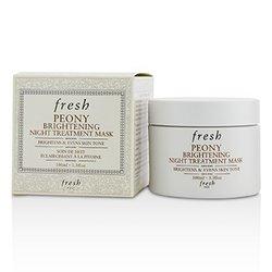 Fresh Peony Brightening Night Treatment Mask  100ml/3.3oz