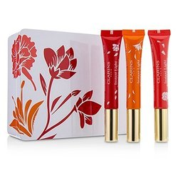 Clarins Instant Light Natural Lip Perfector Trio (Limited Edition)  3pcs