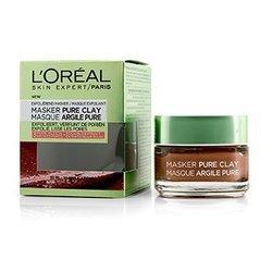 לוריאל Skin Expert Pure Clay Mask - Exfoliate & Refine Pores  50ml/1.7oz