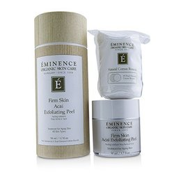 Eminence Firm Skin Acai Exfoliating Peel (with 35 Dual-Textured Cotton Rounds)  50ml/1.7oz