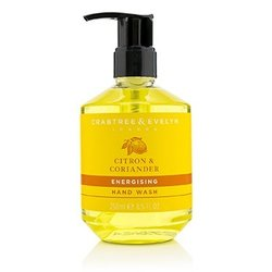 Crabtree & Evelyn Citron & Coriander Energising Hand Wash  250ml/8.5oz