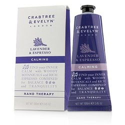 Crabtree & Evelyn Lavender & Espresso Calming Hand Therapy  100ml/3.45oz