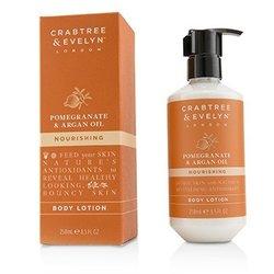 Crabtree & Evelyn Pomegranate & Argan Oil Питательный Лосьон для Тела  250ml/8.5oz