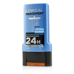 L'Oreal Men Expert Shower Gel - Hydra Power (For Body, Face & Hair)  300ml/10.1oz