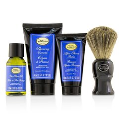 The Art Of Shaving The 4 Elements of the Perfect Shave Mid-Size Kit - Lavender  4pcs