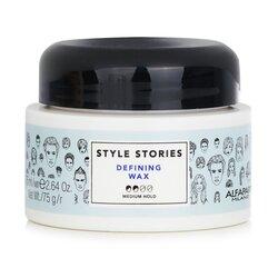 AlfaParf Style Stories Defining Wax (Medium Hold)  75ml/2.64oz