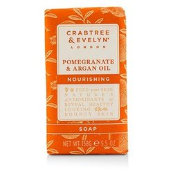Crabtree & Evelyn Pomegranate & Argan Oil Nourishing Soap  158g/5.5oz