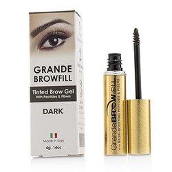 GrandeLash GrandeBrow Fill Tinted Brow Gel - # Dark  4g/0.14oz