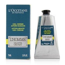 L'Occitane L'Homme Cologne Cedrat After Shave Gel Cream  75ml/2.5oz