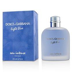 Dolce & Gabbana Light Blue Eau Intense Pour Homme Eau De Parfum Spray  200ml/6.7oz