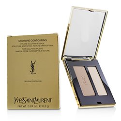 Yves Saint Laurent Couture Contouring Face Sculpting Palette - # 1 Golden Contouring  6.8g/0.24oz