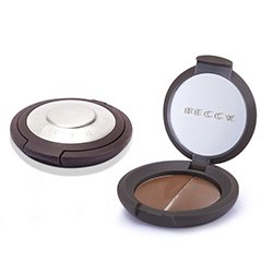 Becca Compact Concealer Medium & Extra Cover Duo Pack - # Walnut  2x3g/0.07oz