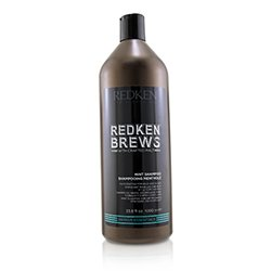 Redken Brews Mint Shampoo (Invigorating For Hair and Scalp)  1000ml/33.8oz