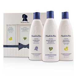 Noodle & Boo Starter Gift Set: Extra Gentle Shampoo 237ml/8oz + Soothing Body Wash 237ml/8oz + Super Soft Lotion 237ml/8oz  3pc