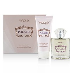 Yardley London Polaire Coffret: Eau De Toilette Spray 50ml/1.7oz + Moisturising Body Lotion 100ml/3.4oz  2pcs