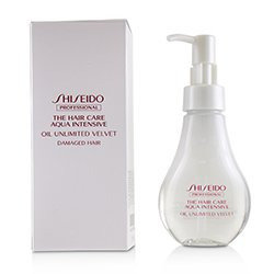 Shiseido The Hair Care Aqua Intensive Oil Unlimited Velvet (Damaged Hair)  100ml/3.4oz