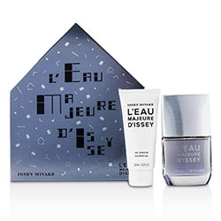Issey Miyake L'Eau Majeure d'lssey Coffret: Eau De Toilette Spray 50ml/1.6oz + Shower Gel 100ml/3.3oz  2pcs